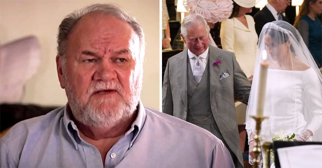 Meghan Markle's Dad Thomas Admits He Was Jealous of Prince Charles Who Got to Walk His Daughter Down the Aisle