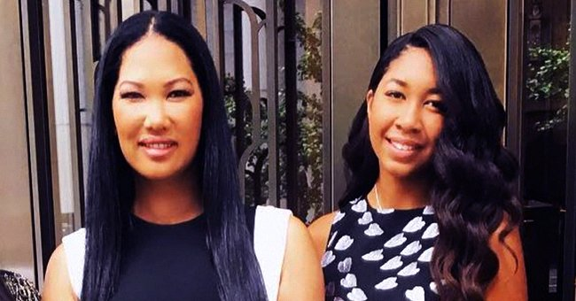 Kimora Lee Simmons' Daughter Aoki Shows off Slim Figure in Swimsuits While Posing on a Yacht