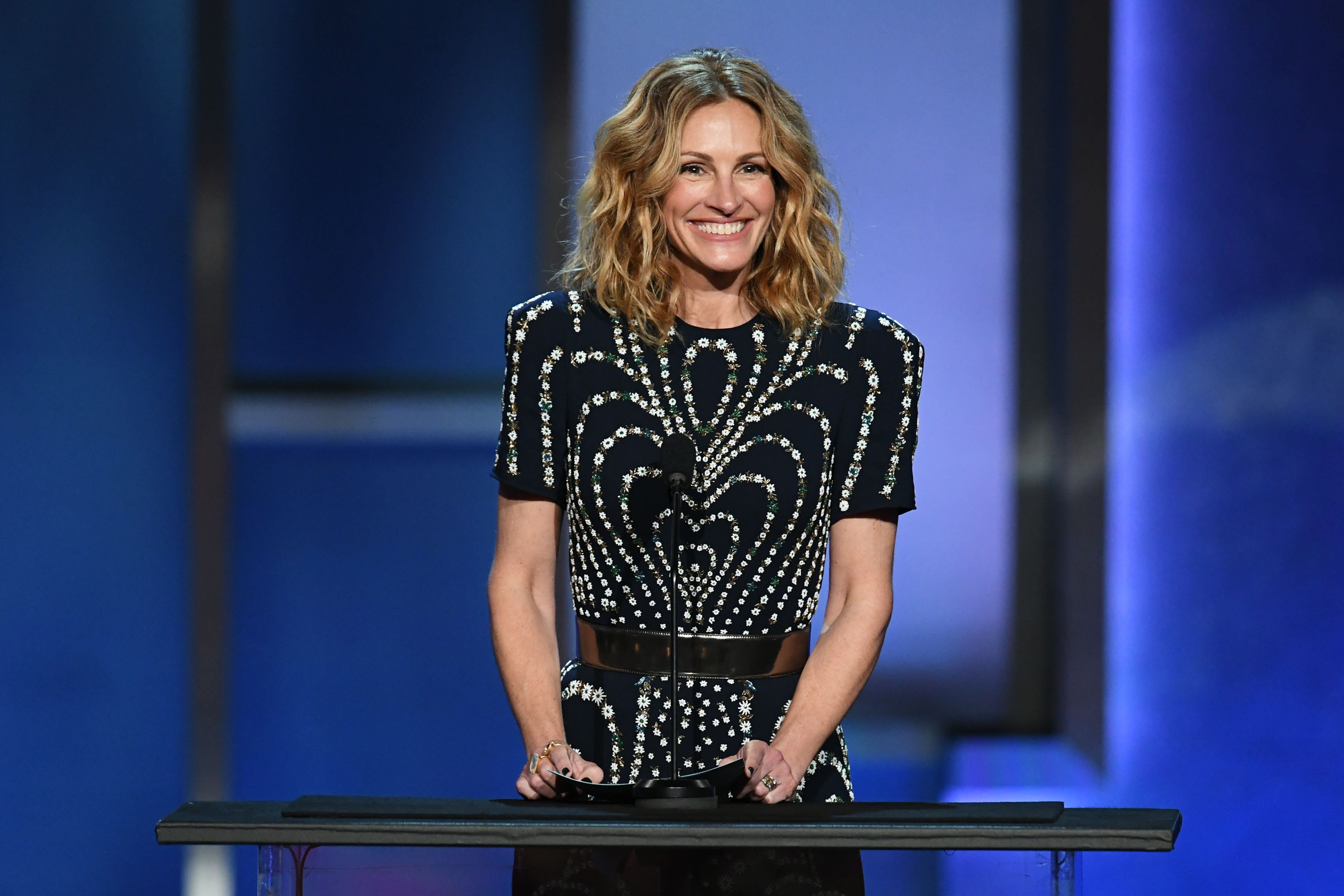 Julia Roberts speaks onstage during the 47th AFI Life Achievement Award. | Source: Getty Images