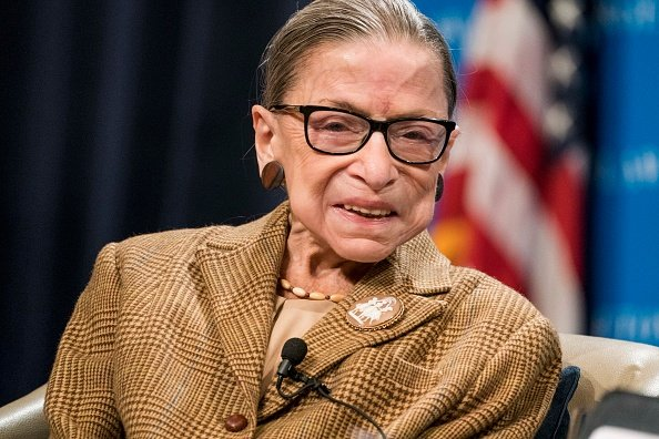 Ruth Bader Ginsburg at the Georgetown University Law Center on February 10, 2020 in Washington, DC. | Photo: Getty Images
