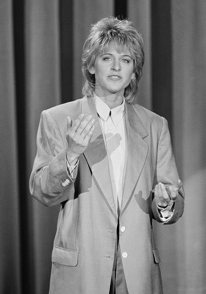 Ellen DeGeneres on The Tonight Show with Johnny Carson, aired on May 21, 1987. | Photo: Getty Images