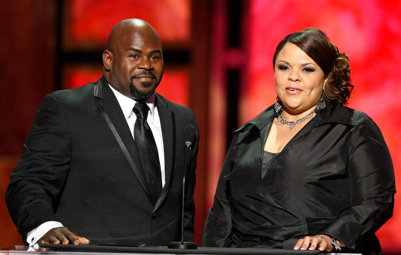 David Mann and Tamela Mann at the 40th NAACP Image Awards held at the Shrine Auditorium on February 12, 2009 in Los Angeles, California | Photo: Getty Images
