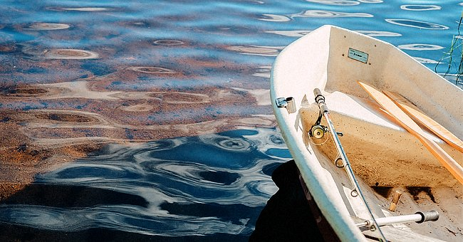 Daily Joke: Wife Decided to Read a Book in Her Husband's Fishing Boat