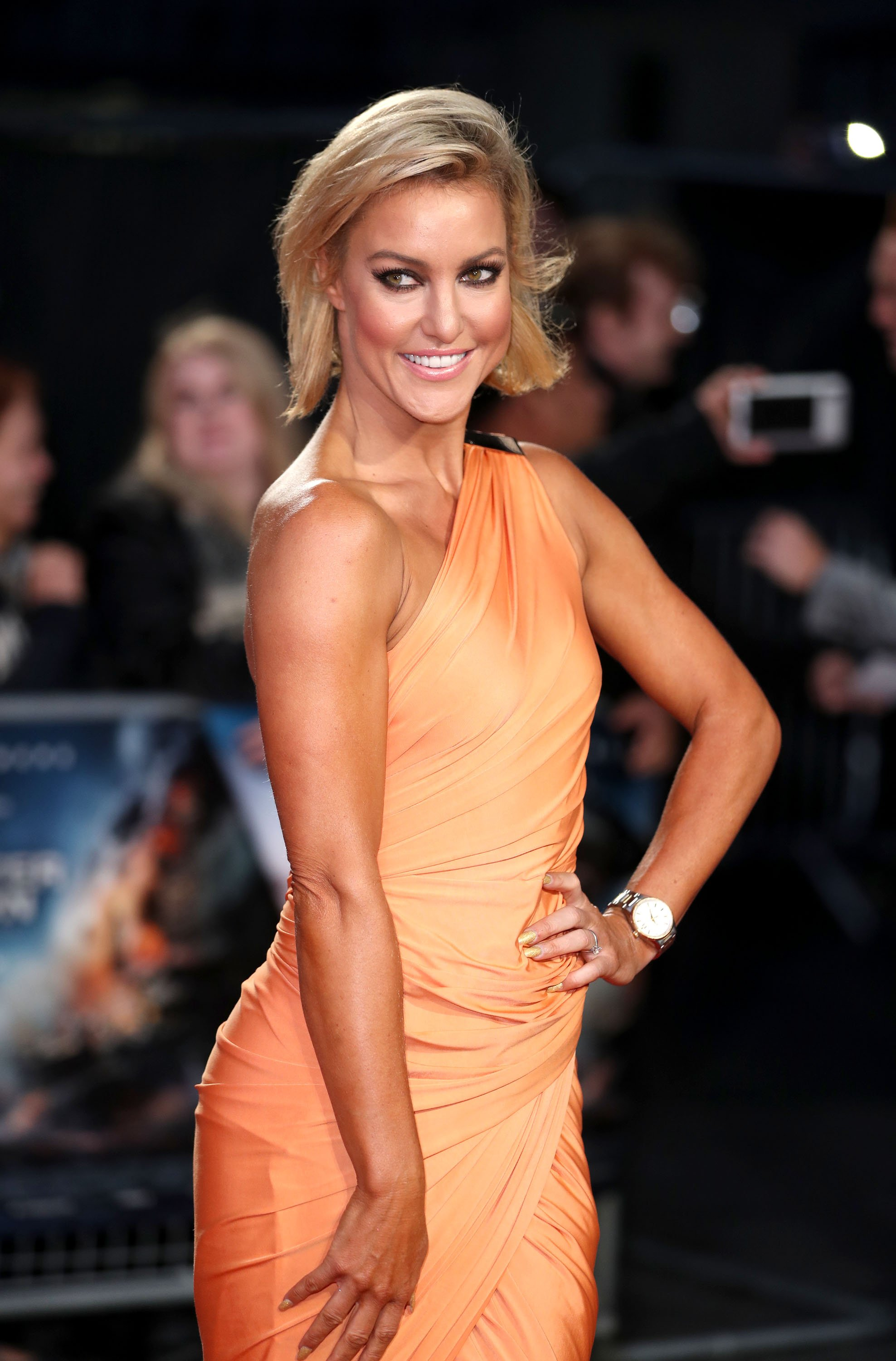 """Natalie Lowe arrives for the at European Premiere of """"Deepwater Horizon"""" Cineworld Leicester Square on September 26, 2016 in London, England.   Photo: Getty Images"""