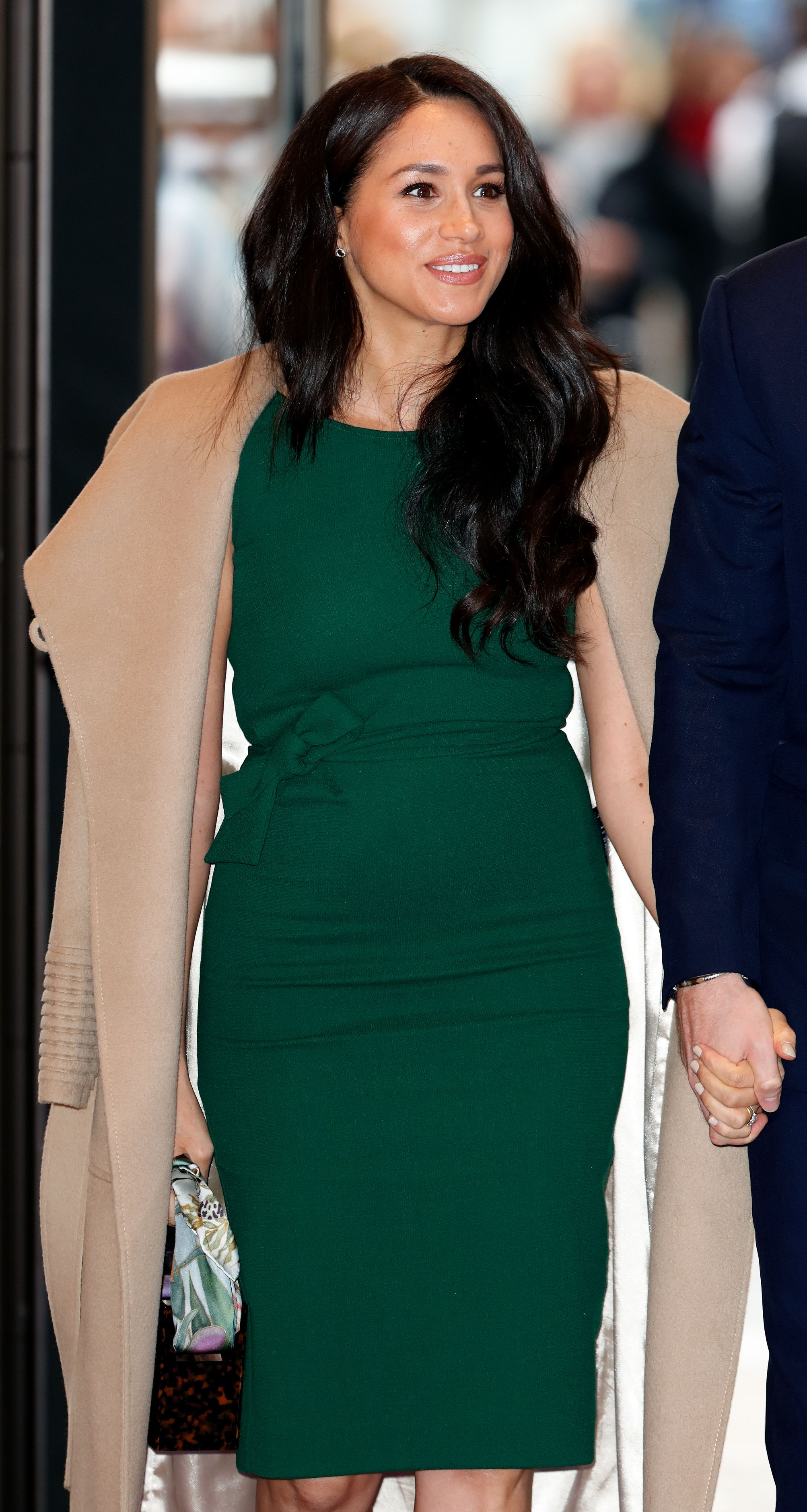Meghan Markle at the WellChild awards at the Royal Lancaster Hotel on October 15, 2019 | Getty Images