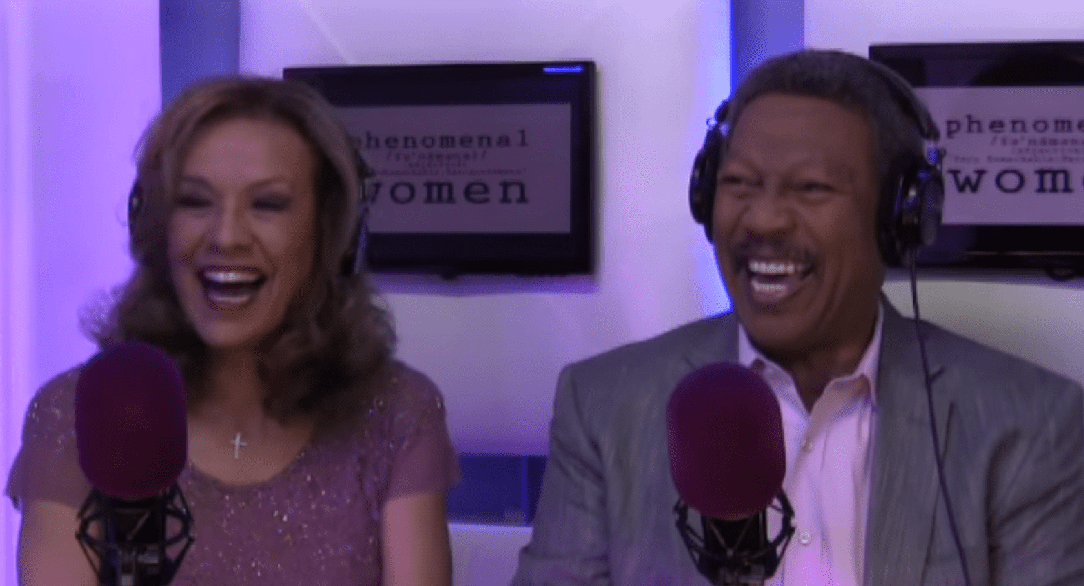Marilyn McCoo & Billy Davis Jr. on an interview with BHL's Phenomenal Women. | Photo: YouTube/Black Hollywood Live