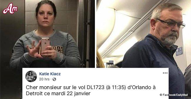 Une maman dénonce un passager grossier qui lui aurait humiliée pendant un vol