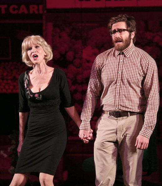 Ellen Greene and Jake Gyllenhaal at City Center on July 1, 2015 in New York City. | Photo: Getty Images