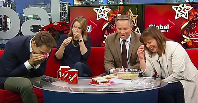Remember These News Anchors' Hilarious Reactions to Their Colleague's Terrible Holiday Dish?