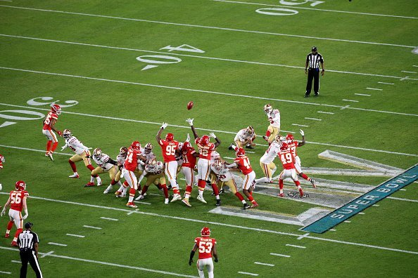 Photo of a NFL game between San Francisco 49ers and Kansas City Chiefs, Super Bowl LIV | Photo: Getty Images