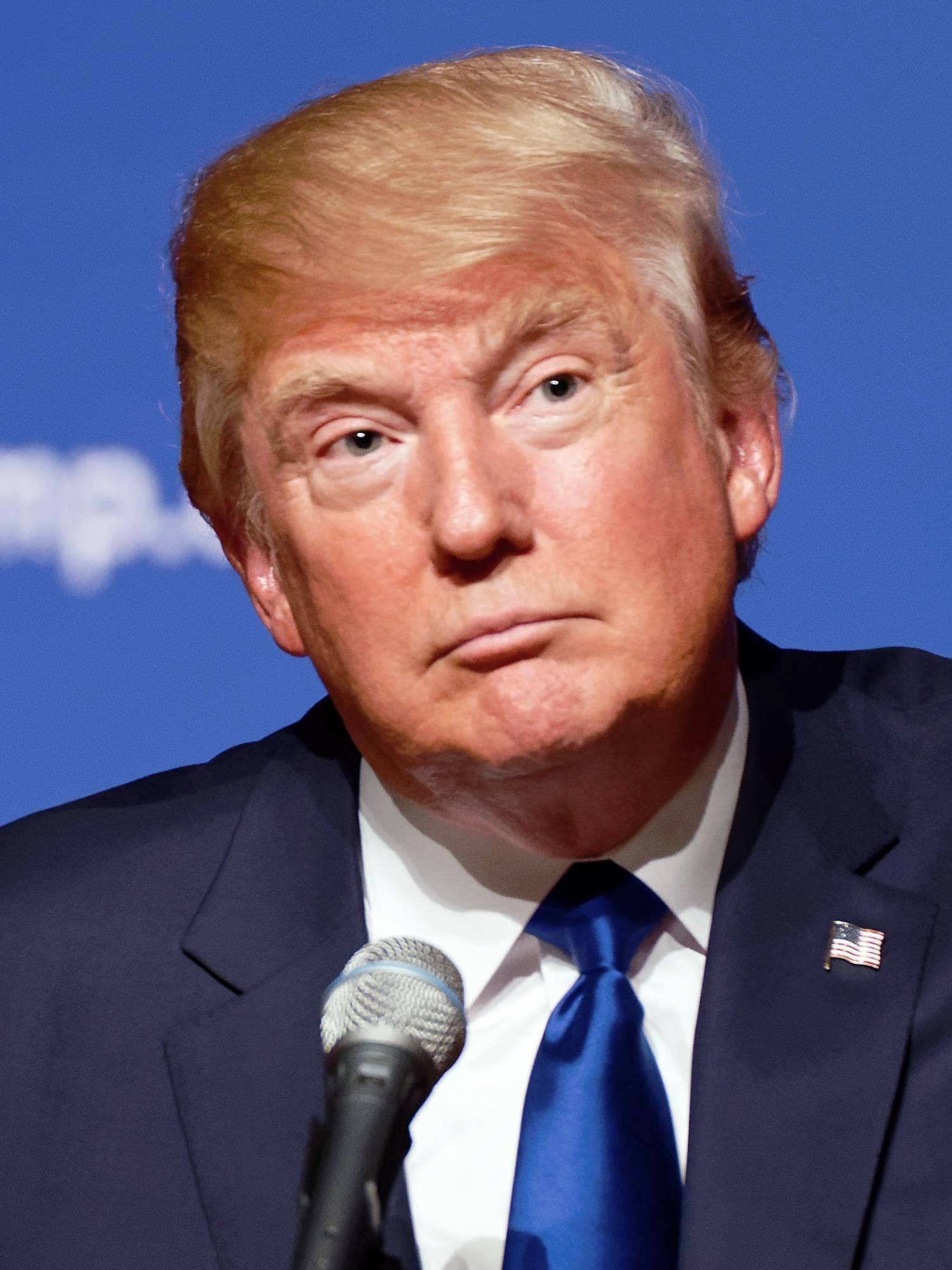 Donald Trump, presidente estadounidense. | Foto: Wikimedia Commons