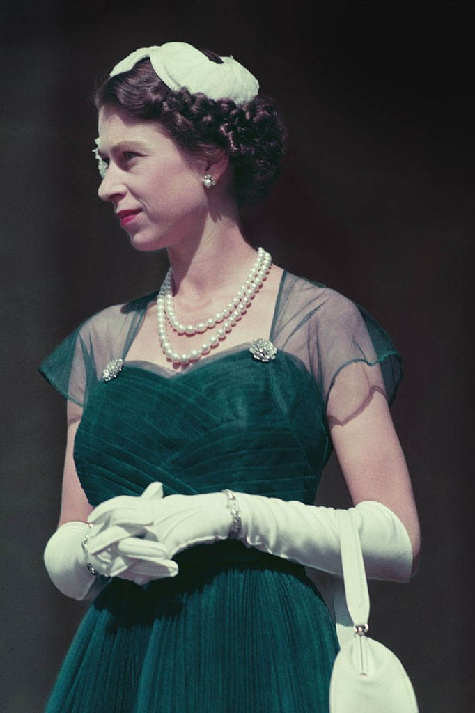 Young Queen Elizabeth II. I Image: Getty Images.
