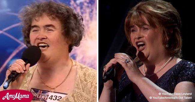 Susan Boyle made a triumphant return to TV, earning the first golden buzzer of the season