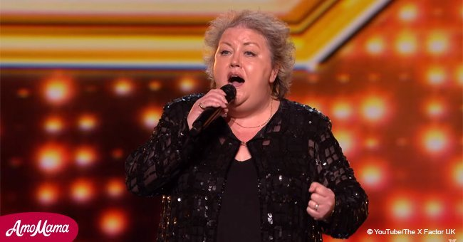 Jacqueline Faye, 53, stunned the 'X-Factor' judges with her wonderful performance
