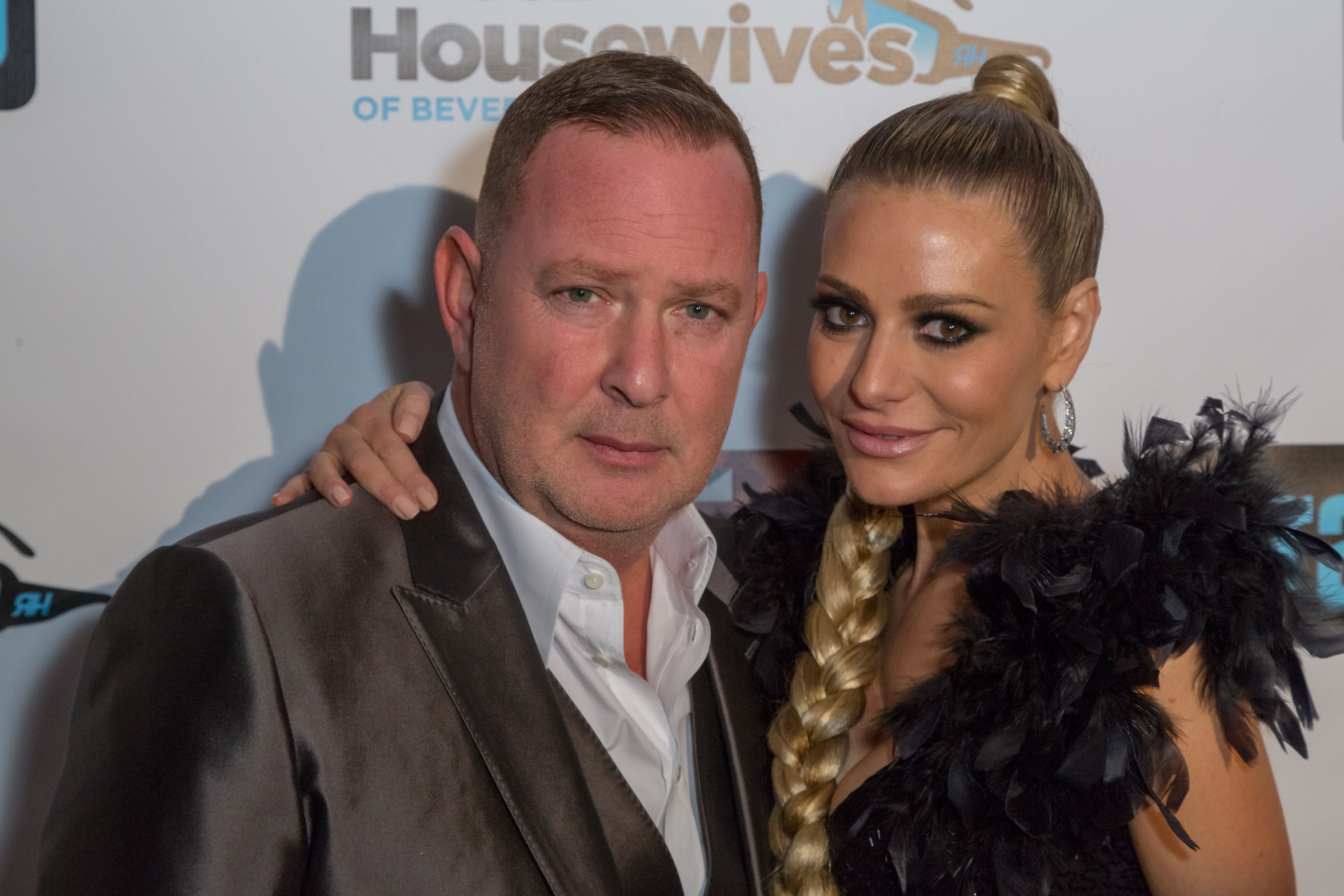 """Paul 'PK' Kemsley and Dorit Kemsley at the Premiere Party For Bravo Networks' """"Real Housewives Of Beverly Hills"""" Season 7 on December 2, 2016 in Los Angeles, California 