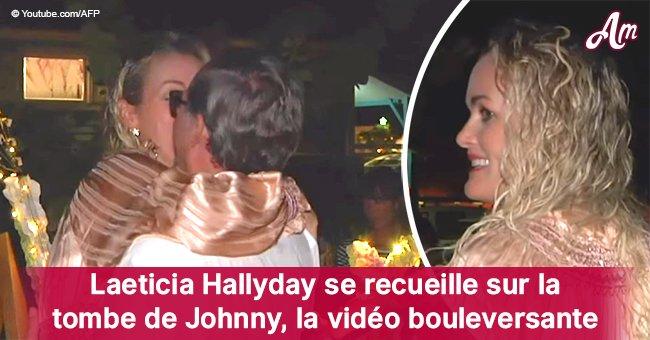 Un an après la mort de Johnny Hallyday: la vidéo de Laeticia Hallyday sur la tombe est diffusée