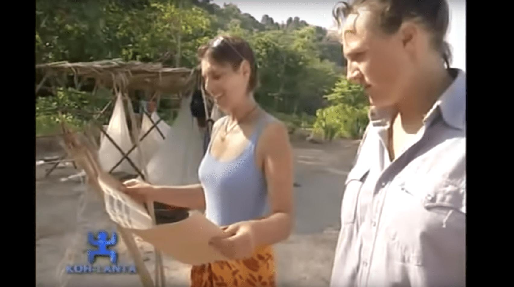 Deux aventuriers de la première saison de Koh-Lanta. l Source : YouTube/StarMedia City