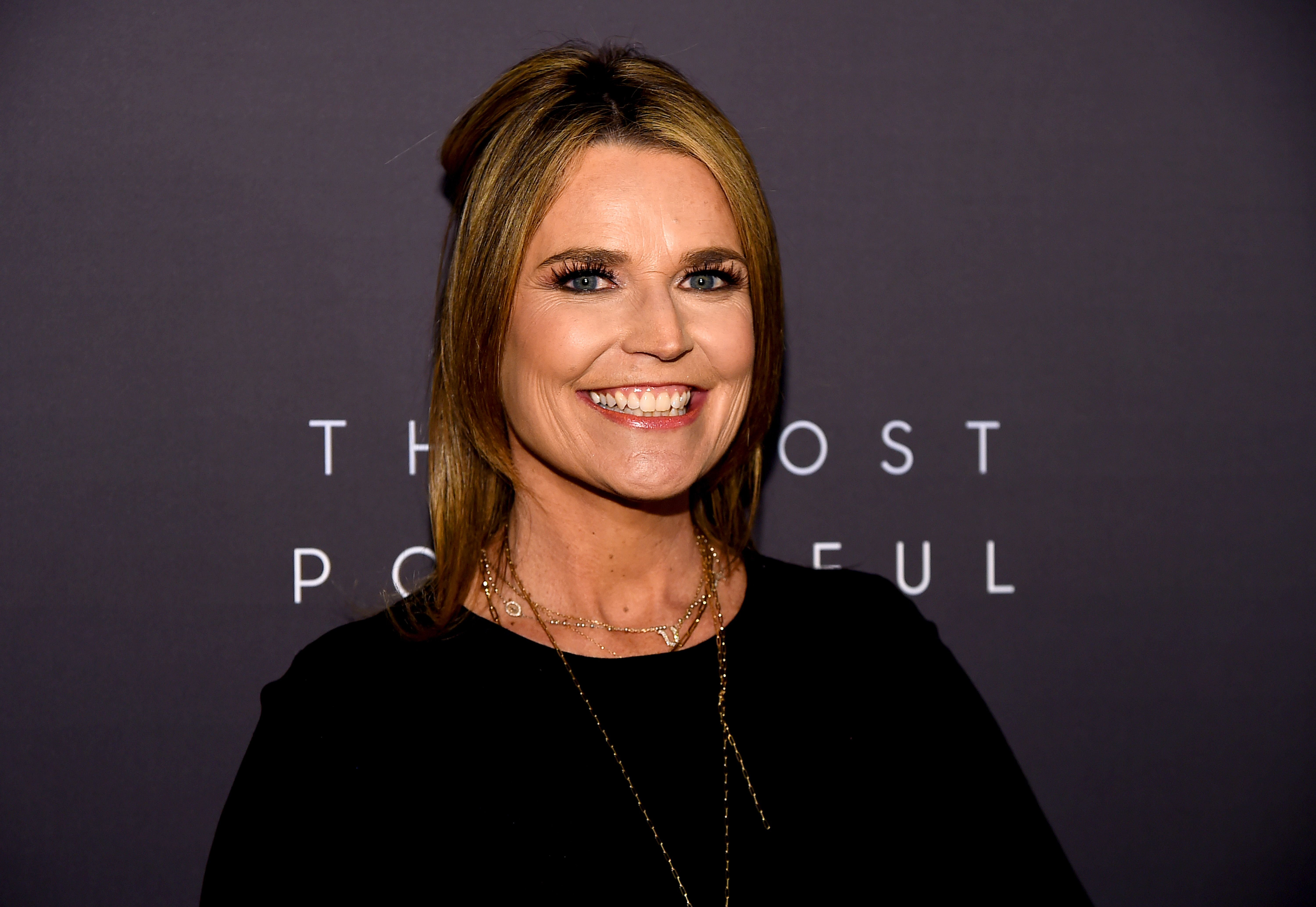 Savannah Guthrie at the The Hollywood Reporter's 9th Annual Most Powerful People In Media at The Pool on April 11, 2019 | Photo: Getty Images