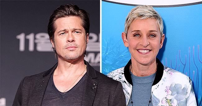 Talk Show Host Ellen DeGeneres & 'Once upon a Time in Hollywood's Brad Pitt Share an Ex-Girlfriend