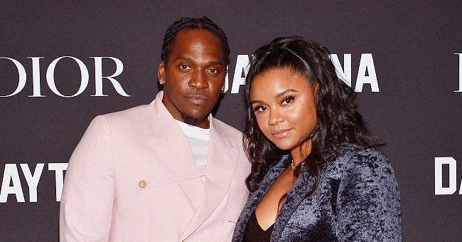 Pusha T's Wife Virginia Shows Their Adorable Baby Nigel Sitting on a Sofa in Gray Pajamas