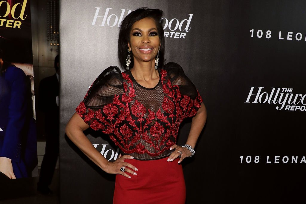 """Harris Faulkner attends the event """"35 Most Powerful People in Media"""" in New York City on April 12, 2018 