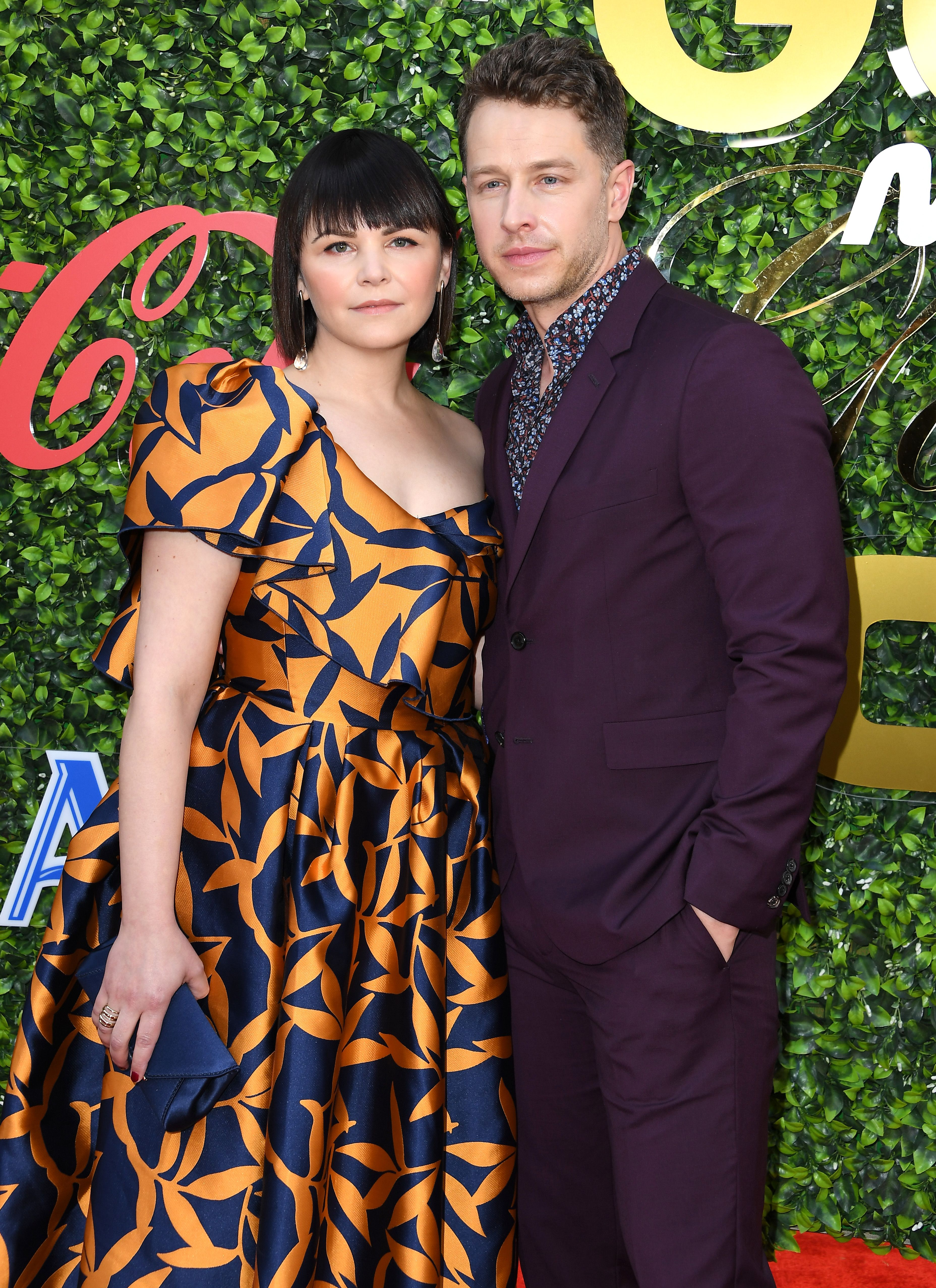 Ginnifer Goodwin and Josh Dallas at the 7th Annual Gold Meets Golden in 2020 in Los Angeles, California | Source: Getty Images
