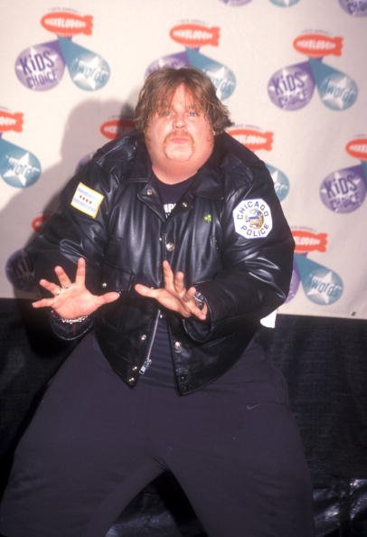 Chris Farley at the 10th Annual Kids Choice Awards April 19, 1997.   Photo: Getty Images