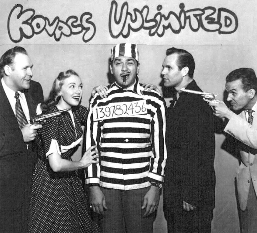 """The cast of """"Kovacs Unlimited"""" in 1953. 