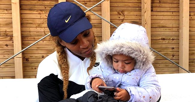 Serena Williams Enjoys Mommy Duty in a Sweet Snap Playing with Legos with Her Daughter Olympia
