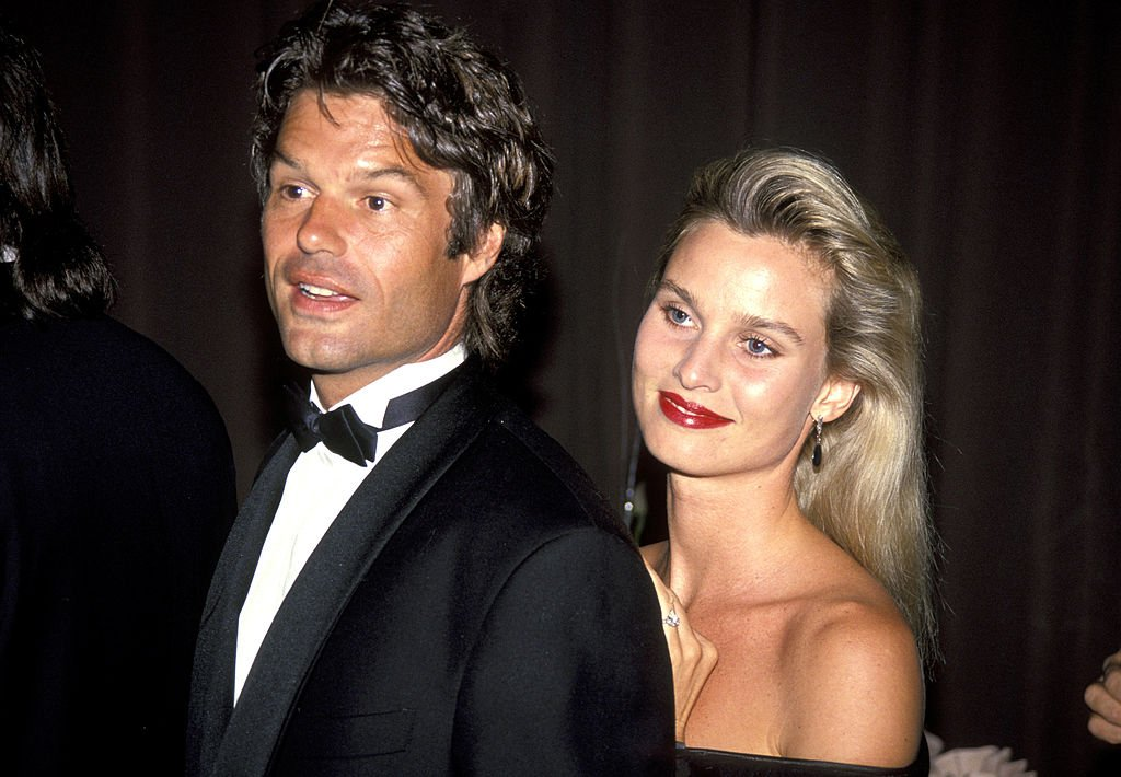 Harry Hamlin and Nicollette Sheridan at the 1991 Vital Spirit Honors in Beverly Hills, California.  Source: Getty Images