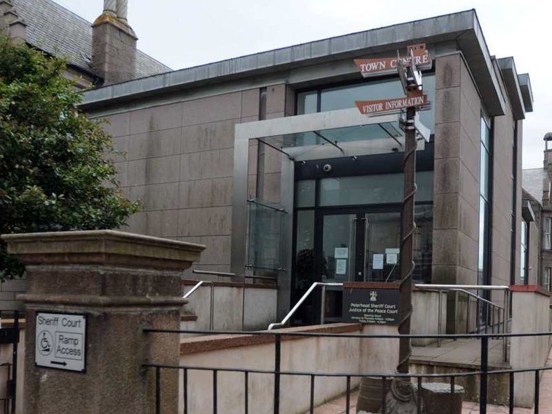 Peterhead Sheriff Court | Source: The Press and Journal