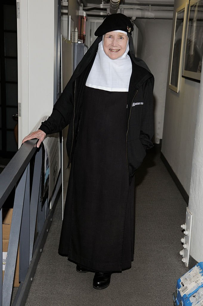 "Mother Dolores Hart at the screening of ""God Is the Bigger Than Elvis"" on April 25, 2016 in New York City. 