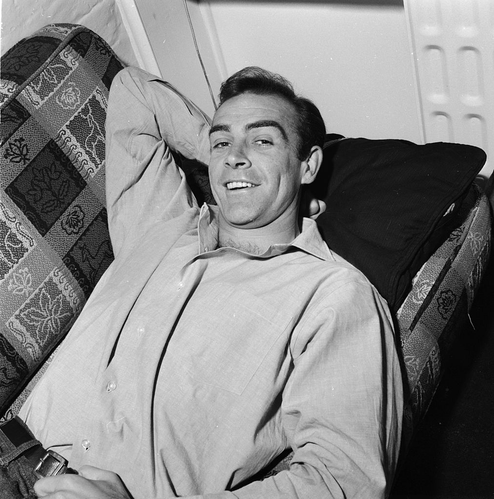 Sean Connery in London on August 31, 1962   Photo: Getty Images