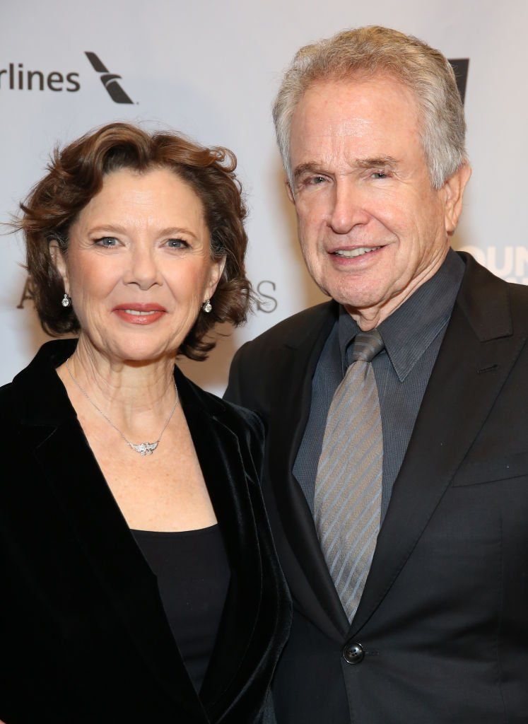 """Annette Bening and Warren Beatty attend the Broadway Opening Night After Party for """"All My Sons"""" at The American Airlines Theatre on April 22, 2019 