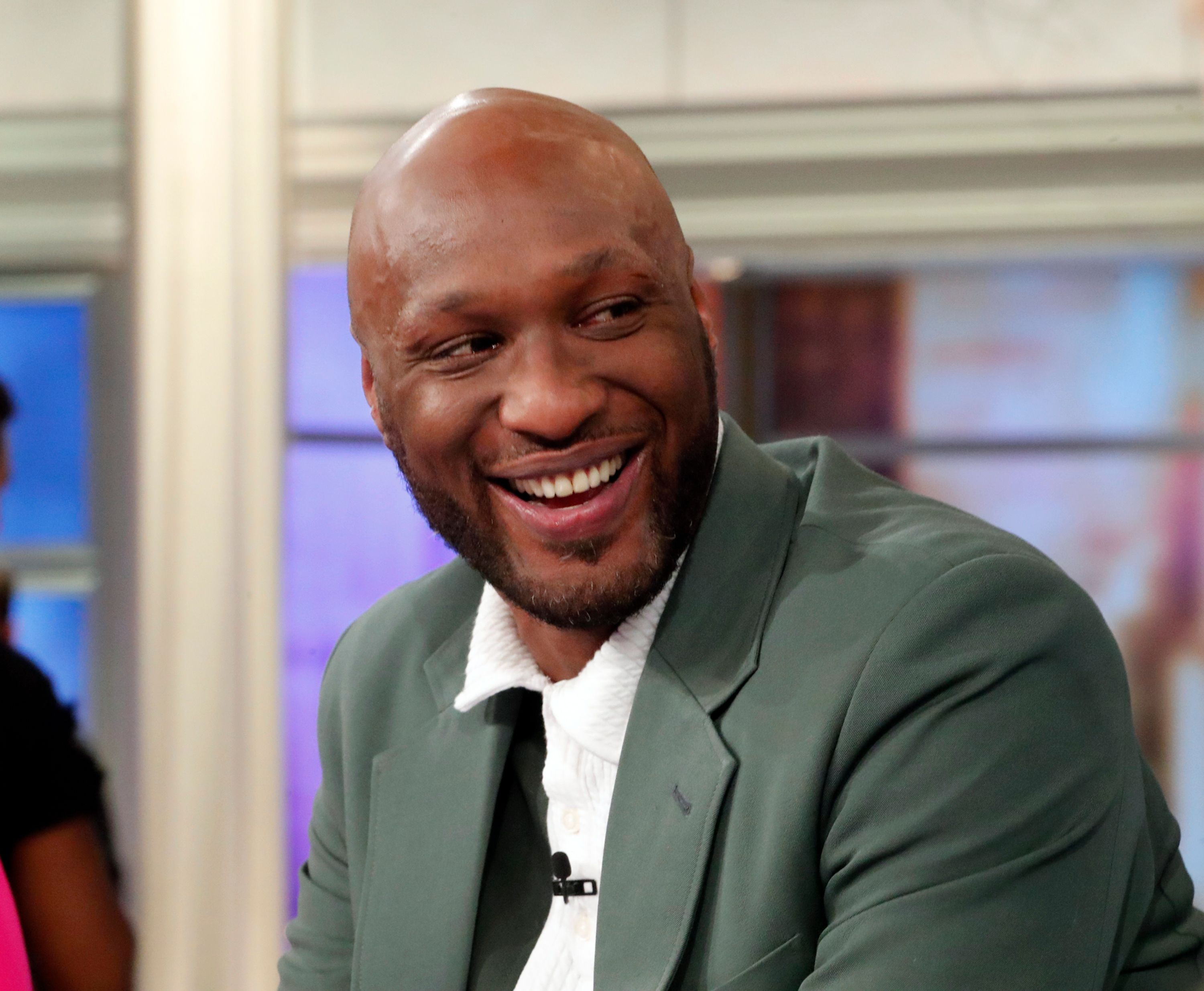 """Lamar Odom on """"The View"""" on May 28. 2019. 