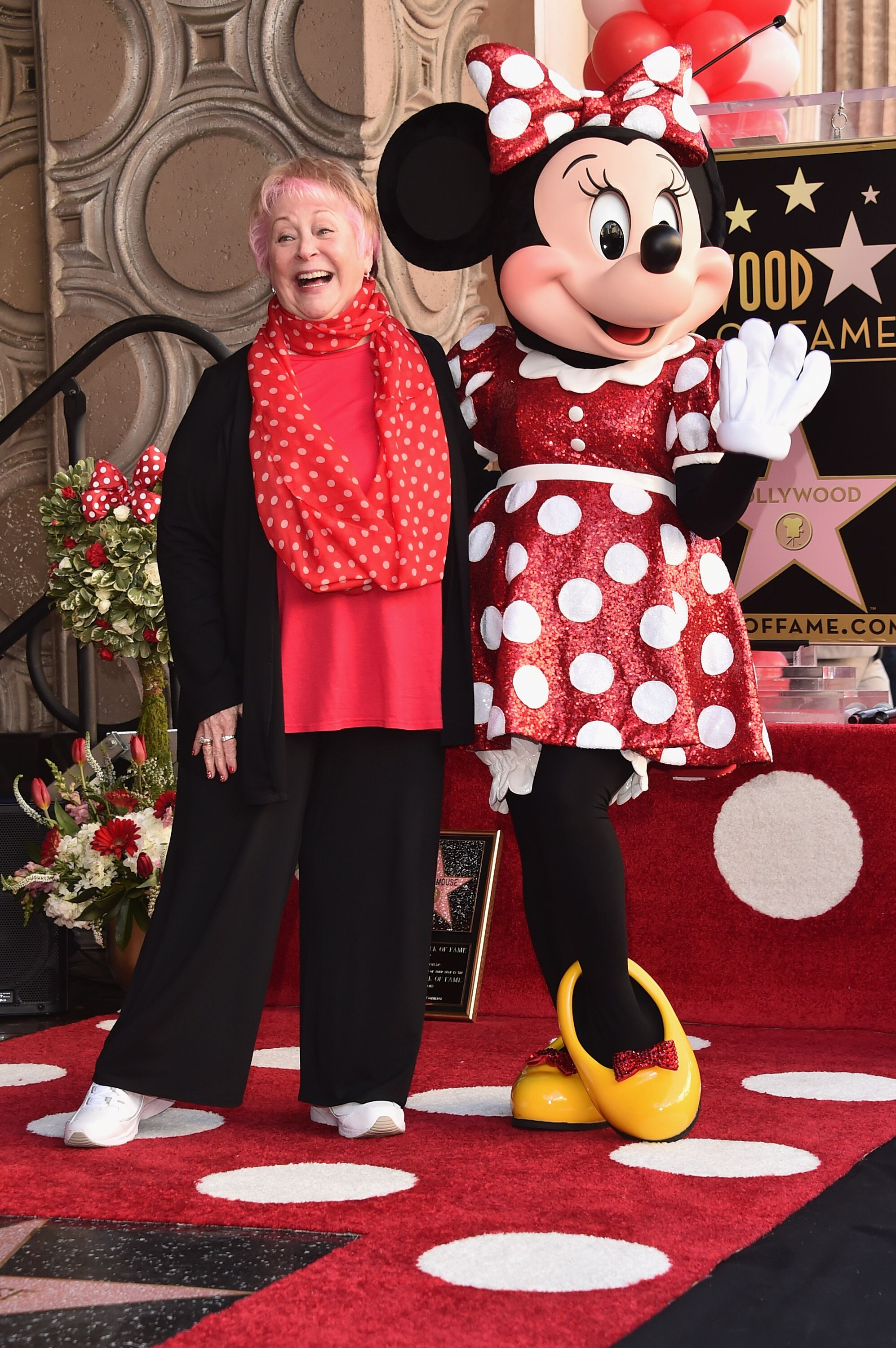 Russi Taylor with Minnie Mouse | Getty Images/ Global Images Ukraine