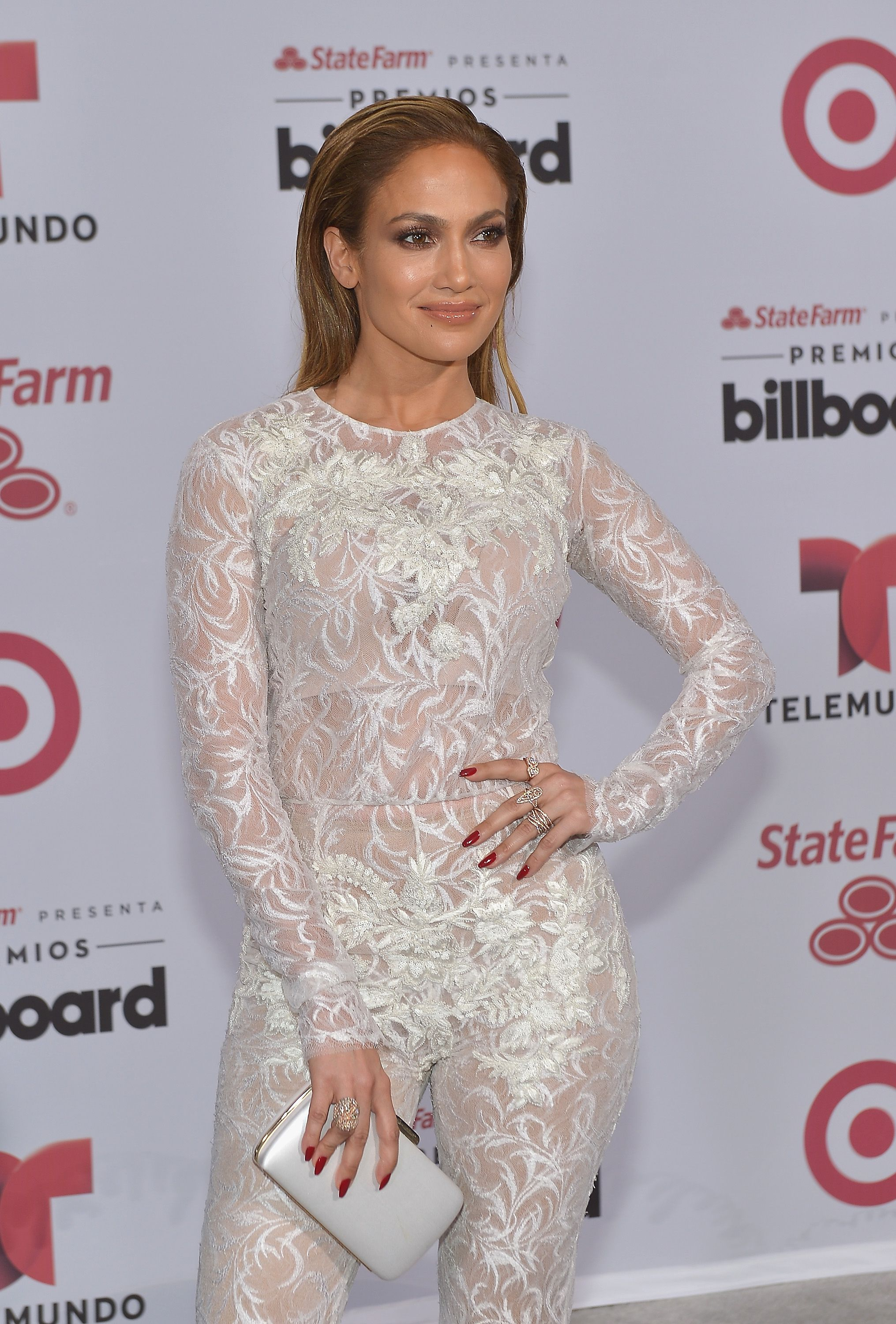 Jennifer Lopez at the 2015 Billboard Latin Music Awards presented bu State Farm on Telemundo at Bank United Center on April 30, 2015  | Photo: Getty Images