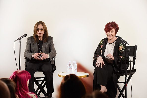 "Ozzy Osbourne and Sharon Osbourne at Ozzy Osbourne Announces ""No More Tours 2"" Final World Tour At Press Conference on February 6, 2018 