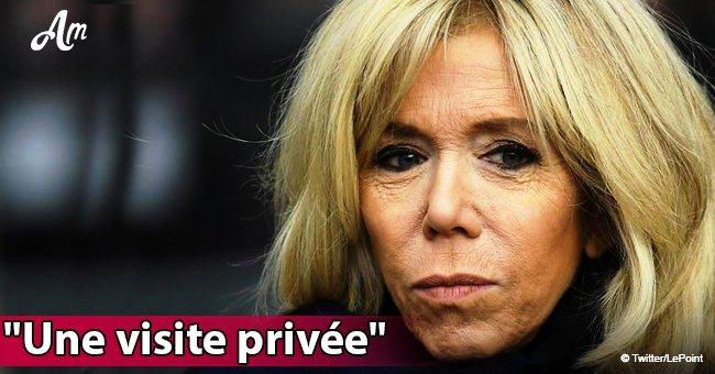 Une photo de Brigitte Macron aux côtés d'un homme bien connu au marché de Noël a déchaîné le Web