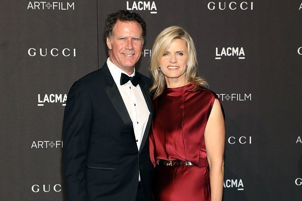 Will Ferrell and Viveca Paulin at LACMA on November 3, 2018 in Los Angeles, California | Photo: Getty Images