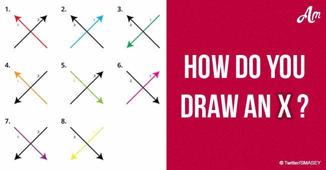 How do you draw an X?' People lose their minds over this viral question