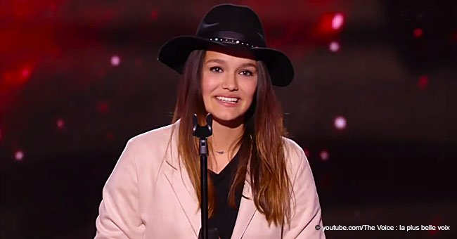 Une candidate de 'The Voice' a donné les larmes aux yeux à son père par son apparition inattendue sur la scène