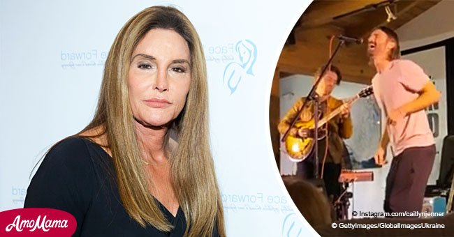 Caitlyn Jenner shares video from son's show saying she 'can't get enough' of his charming voice
