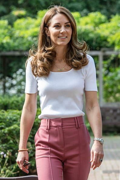 Kate Middleton in Battersea Park on September 22, 2020 in London, England. | Photo: Getty Images