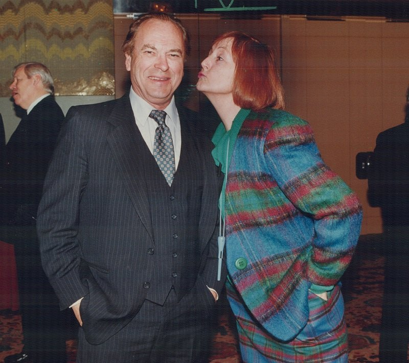 """Rip Torn in """"The Larry Sanders Show"""" in the 1990s   Photo: Getty Images"""