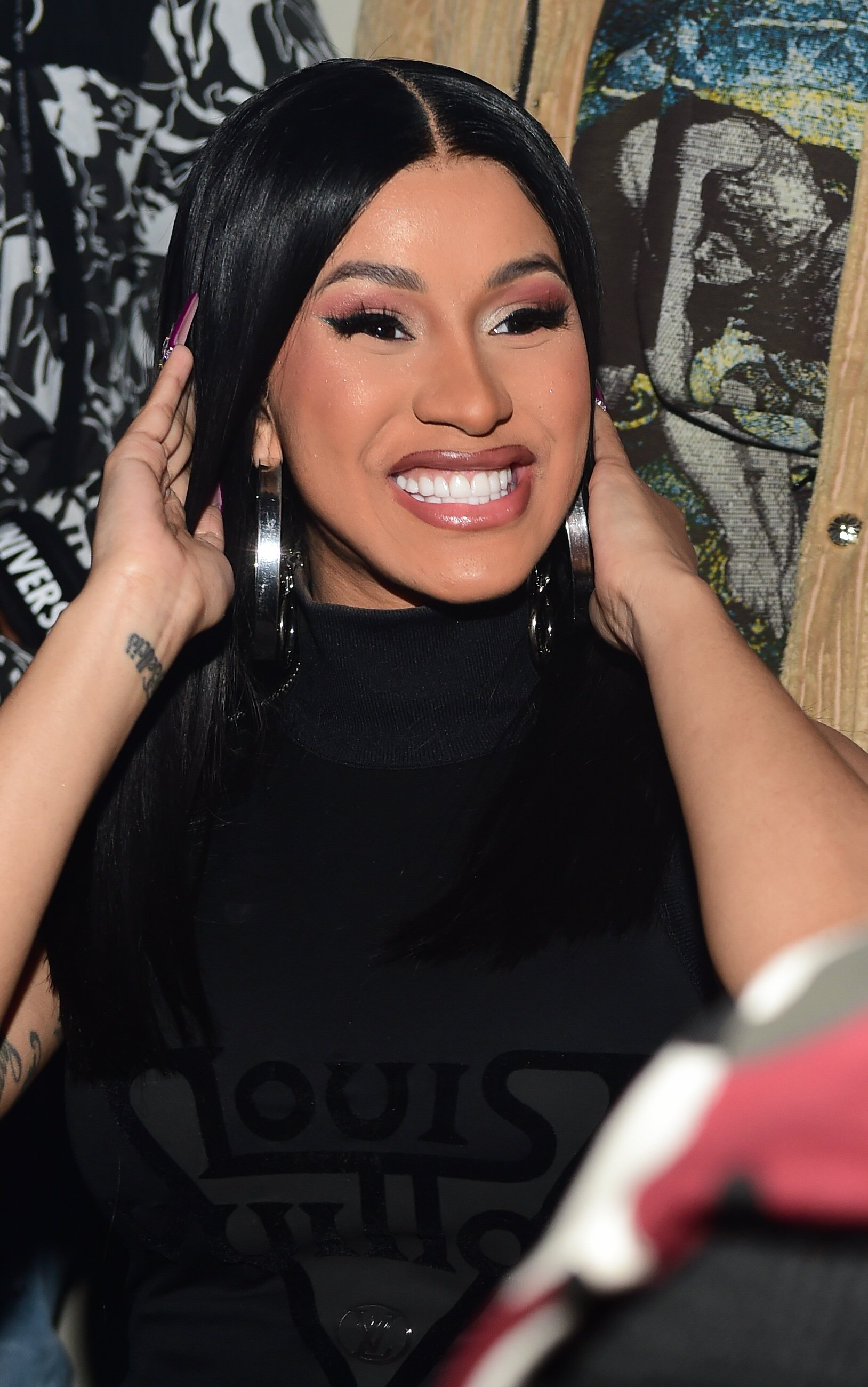 Cardi B attends the Hawks vs Nets after-party at Gold Room in Atlanta, Georgia on February 28, 2020 | Photo: Getty Images
