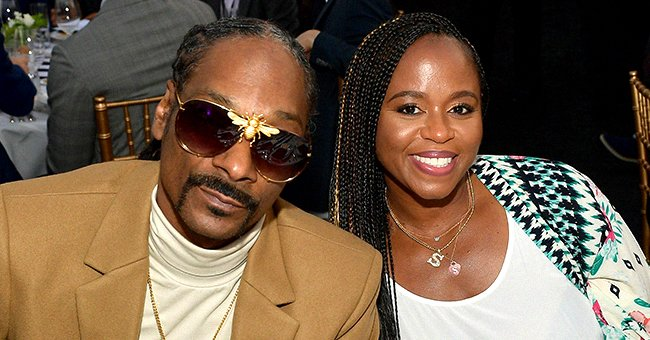 Snoop Dogg and Shante Broadus at the 33rd Annual Cedars-Sinai Sports Spectacular on July 15, 2018 in Inglewood, California. . | Photo: Getty Images