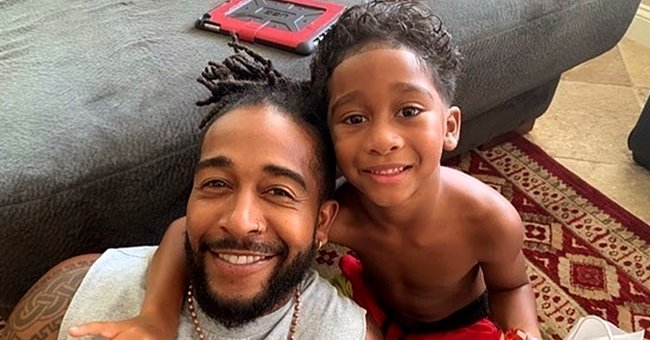 Omarion and Apryl Jones' Son Megaa Omari Looks like Dad's Twin in New Snaps