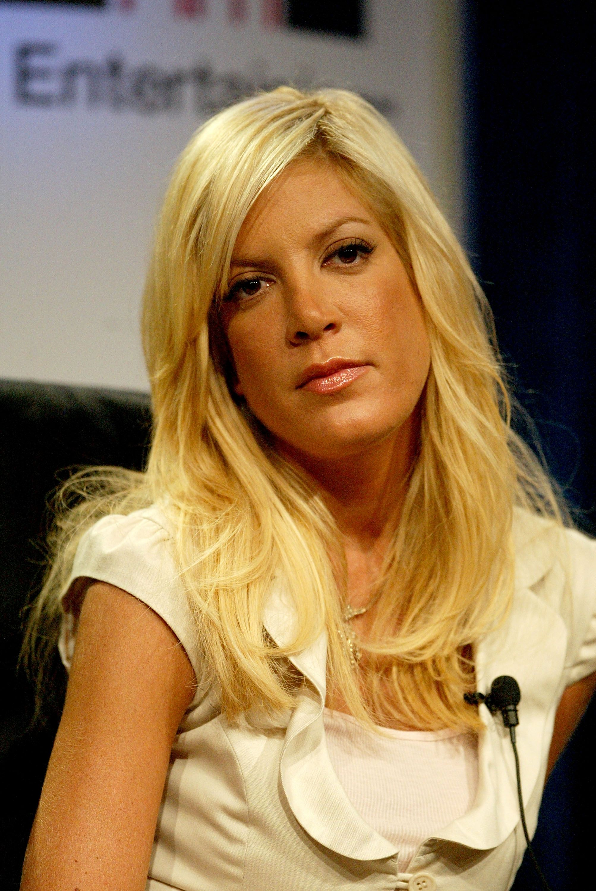 """Tori Spelling attending Court TV's """"Hollywood Stalkers"""" on July 14, 2005 in Beverly Hills. 