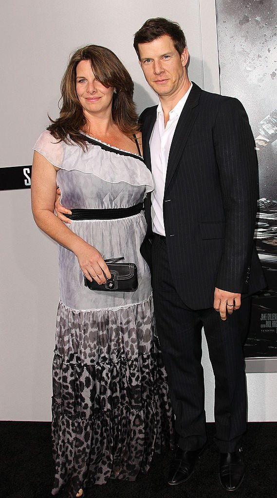 """Actor Eric Mabius (R) and his wife Ivy Sherman attend the premiere of Summit Entertainment's """"Source Code"""" at the Arclight Cinerama Dome 